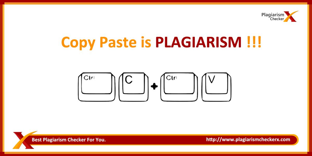 copy paste plagiarism