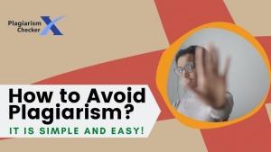 avoiding plagiarism methods