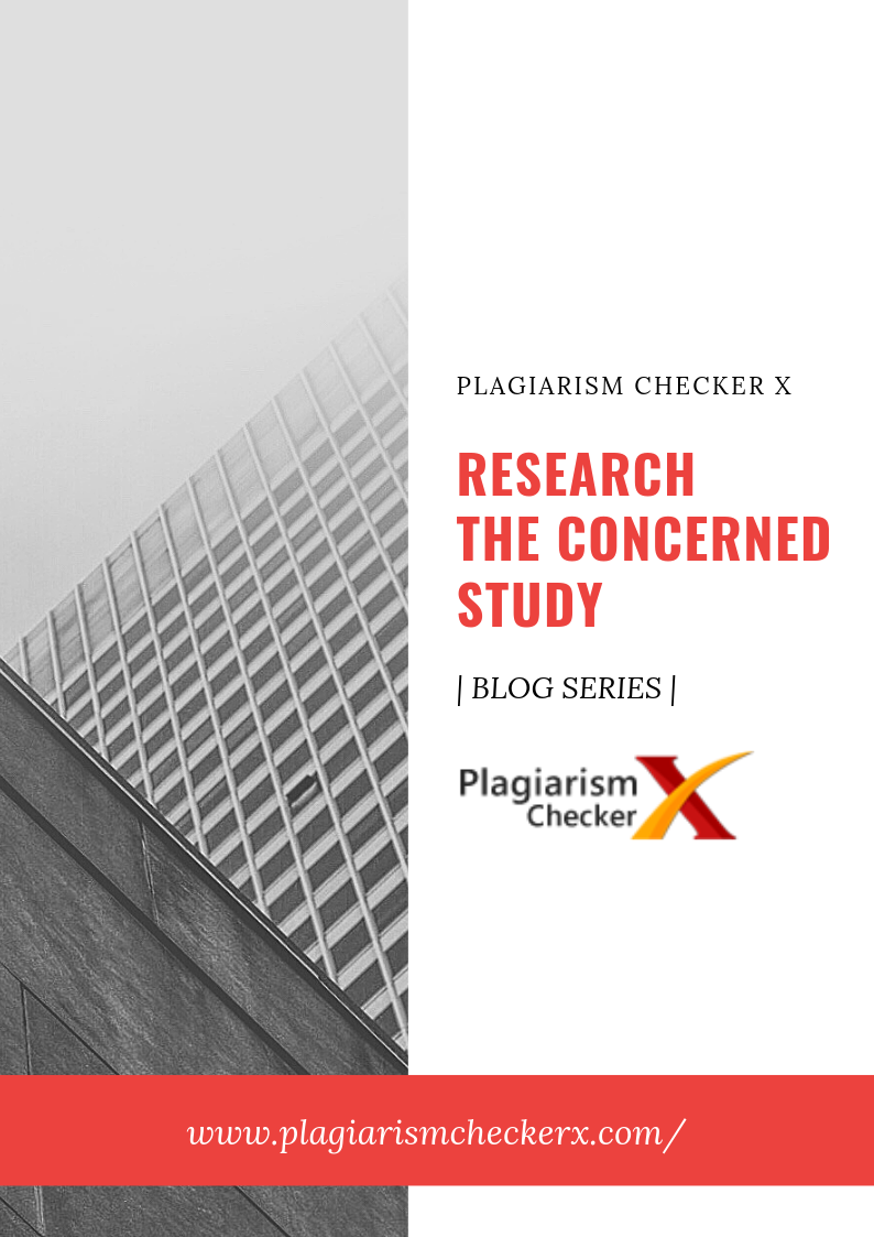 Research concerned focused study