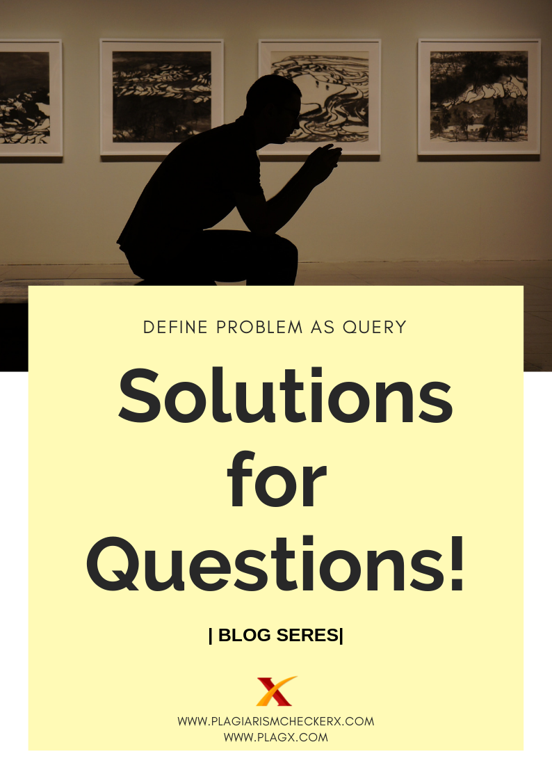 Research Solutions and questions