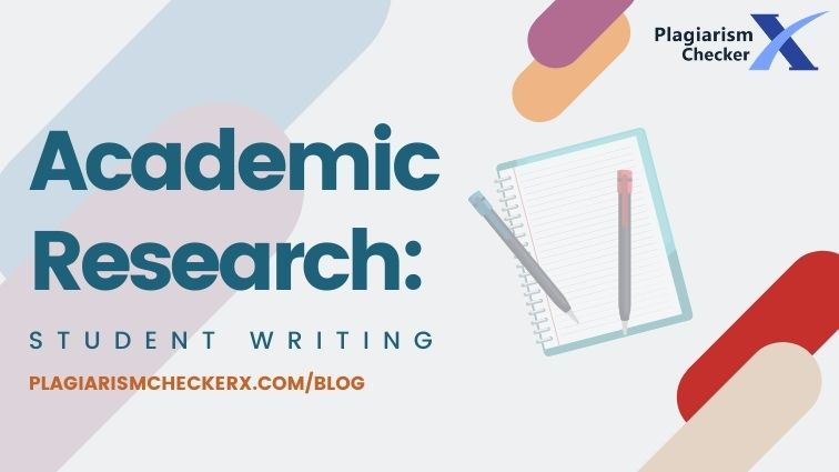 academic research student writing