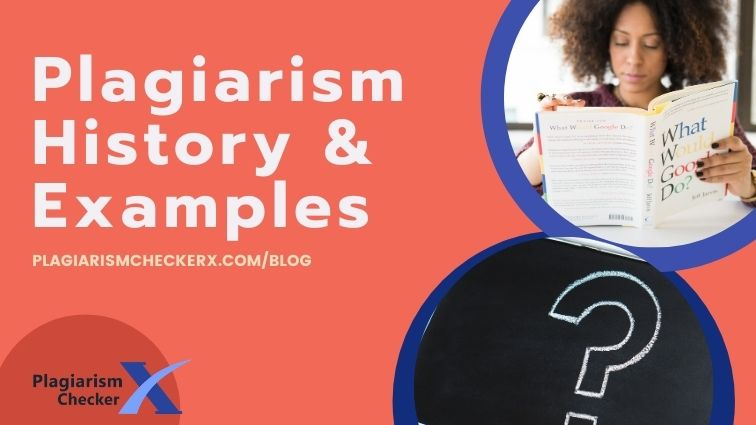 Plagiarism example and history